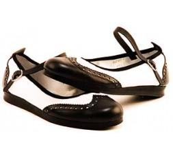 Strap Lindy Hoper schwarz/weiß - 7141
