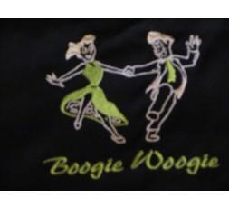 Hemd Stick Tanzpaar Boogie Woogie grün/weiß (GG-HEH GR-TP-SKH)