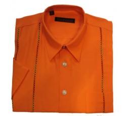 Hemd Kurzarm orange - 21092V46K