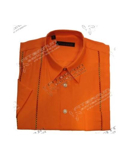 the best attitude e038e 672b5 Hemd Kurzarm orange - 21092V46K