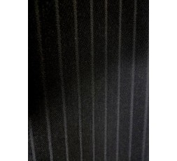 Boogie Hose v. PHÖNIX Modell DOMENICO schwarz feine Streifen (6921P01D)
