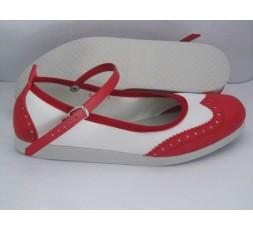 strap Lindy Hoper rot/weiß - 7141