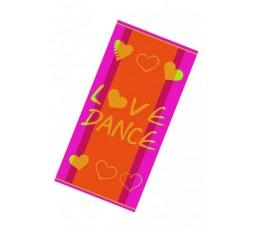 """Duschtuch, Strandtuch """"Love Dance"""" - R250"""