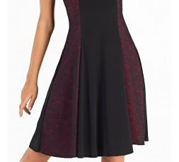 So Danca Ballroom Tanzkleid schwarz mit rot Gr. L (6)(E11035)