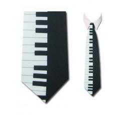 SWING Krawatte Schwarz/Weiß - K10