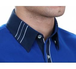 Hemd Langarm blau - 2080ML