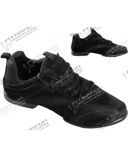 Sneaker Nero schwarz 1566