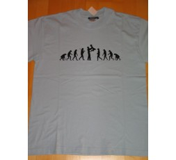 T-Shirt hellblau Gr. L Evolution