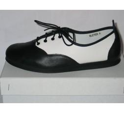 Casual schwarz/weiß - 7530-102