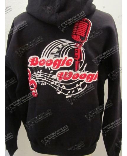 Kapuzenjacke Boogie Woogie mit Microfon 2-farbig