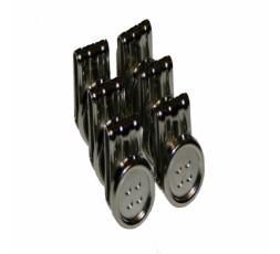 Hosenträger für Knöpfe oder Clipse schwarz 9507 007