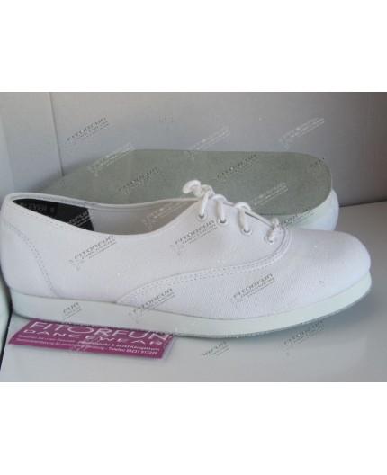 Bleyer Dance Sneaker weiss Ledersohle - 7321-01