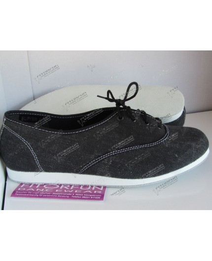 Bleyer Dance Sneaker schwarz Ledersohle - 7321-02
