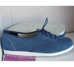 Bleyer Dance Sneaker jeans Ledersohle - 7321-244
